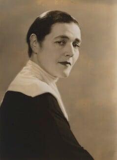 Fannie Hurst, by Dorothy Wilding - NPG x18684