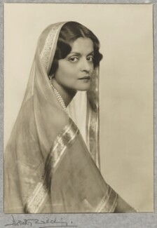 Indira Devi, Maharani of Cooch Behar, by Dorothy Wilding - NPG P870(2)