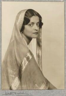 Indira, Maharani of Cooch Behar, by Dorothy Wilding - NPG P870(2)