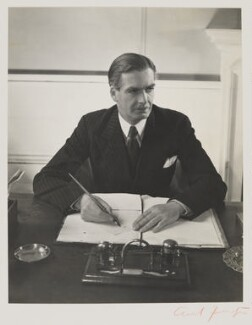 Anthony Eden, 1st Earl of Avon, by Cecil Beaton - NPG P869(4)