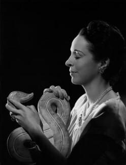 Margaret Rawlings (Lady Barlow), by Bassano Ltd - NPG x73616