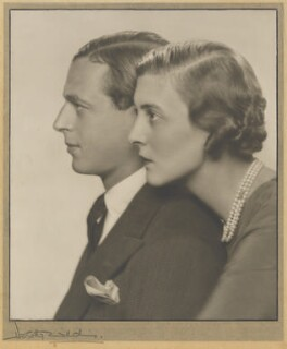Prince George, Duke of Kent and Princess Marina, Duchess of Kent, by Dorothy Wilding - NPG P870(10)