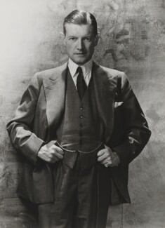 Chips Channon, by Cecil Beaton - NPG P869(6)