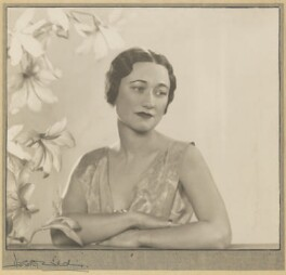 Wallis, Duchess of Windsor, by Dorothy Wilding, 1935 - NPG  - © William Hustler and Georgina Hustler / National Portrait Gallery, London
