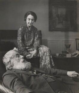 Walter Sickert; Thérèse Lessore, by Cecil Beaton - NPG P869(21)
