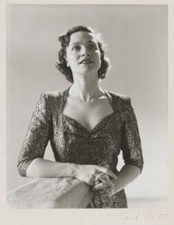 Kathleen Ferrier, by Cecil Beaton - NPG P869(13)