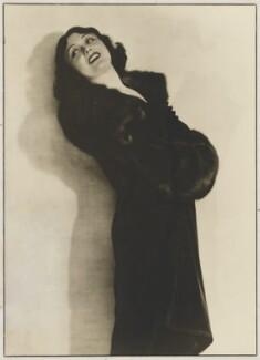 Pola Negri, by Dorothy Wilding - NPG x21473
