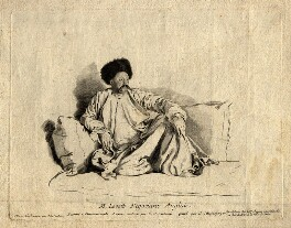 Francis Levett, by Johann Christoph von Reinsperger, after  Jean Etienne Liotard - NPG D10909