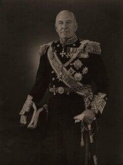 Sir Harold Martin Burrough, by Hay Wrightson - NPG x74234