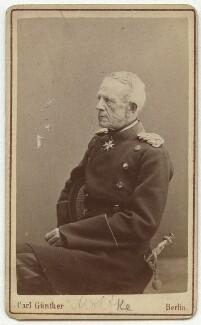 Helmuth Karl Bernhard von Moltke, Count von Moltke, by Carl Günther - NPG x74310