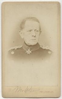 Helmuth Karl Bernhard von Moltke, Count von Moltke, by L. Haase & Co - NPG x74311
