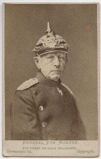 Helmuth Karl Bernhard von Moltke, Count von Moltke, by London Stereoscopic & Photographic Company - NPG x74315