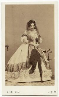 Princess Laetitia Christine Bonaparte, by Disdéri - NPG x74336