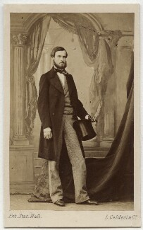 Louis Philippe Albert of Orléans, Count of Paris, by Leonida Caldesi - NPG x74358