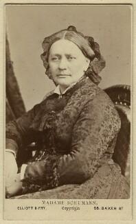 Clara Schumann, by Elliott & Fry - NPG x74359