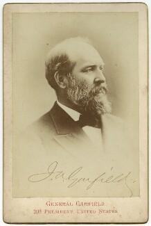 James Abram Garfield, by Unknown photographer - NPG x74372