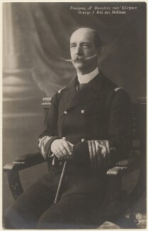 George I, King of Greece, by Unknown photographer, 1900-1913 - NPG x74414 - © National Portrait Gallery, London