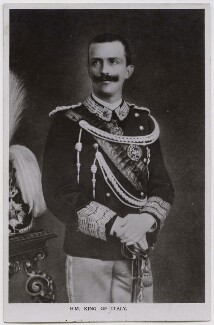 Victor Emmanuel III, King of Italy, by Unknown photographer - NPG x74425