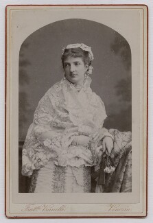 Margherita, Queen of Italy, by Fratelli Vianelli (Giuseppe & Luigi Vianelli) - NPG x74429