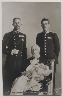 'Four Generations of Swedish Royalty', by Unknown photographer - NPG x74454