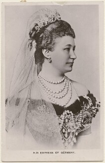 Augusta Victoria, Empress of Germany and Queen of Prussia, by Unknown photographer - NPG x74475