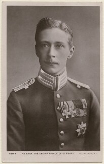 Wilhelm, German Crown Prince and Crown Prince of Prussia, published by Rotary Photographic Co Ltd - NPG x74476