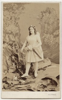 Clara St Casse as Cupid in 'Endymion', by Southwell Brothers - NPG x74511