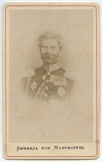 Edwin Hans Karl von Manteuffel, Baron von Manteuffel, by Unknown photographer - NPG x74552