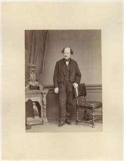 Matthew Fontaine Maury, by Ernest Edwards - NPG x74555