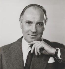 Sir Ralph Richardson, by Dorothy Wilding - NPG x22032