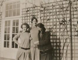 E.Q. Nicholson; E. Hobbs; Eveleen ('Eve') Clarke (née Myers), by Unknown photographer - NPG x74697