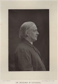 Edward White Benson, by W. & D. Downey, published by  Cassell & Company, Ltd - NPG x747