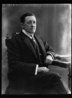 Trevor Ogilvie-Grant of Grant, 4th Baron Strathspey, by Bassano Ltd - NPG x75270