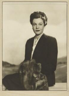Cornelia Otis Skinner, by Dorothy Wilding - NPG x22602