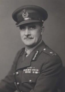 Sir Colin McVean Gubbins, by Walter Stoneman - NPG x75741