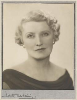 Constance C. Shephard (née Evans), by Dorothy Wilding - NPG x75831