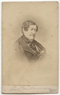 Stapleton Cotton, 1st Viscount Combermere, published by Alfred William Bennett, 1860s - NPG x75839 - © National Portrait Gallery, London