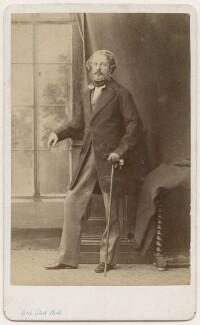 George Guy Greville, 4th Earl of Warwick, by Bernieri, Caldesi & Co - NPG x76004