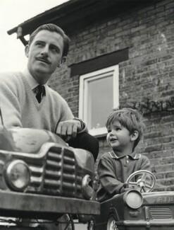 Graham Hill; Damon Hill, by Lewis Morley - NPG x76128