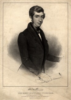 Charles Poulett-Thomson, Baron Sydenham, by T.C. Wilson, printed by  Wlliam Kohler, published by  Darton & Clark - NPG D10911