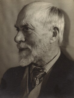Ernest Rhys, by Lucia Moholy - NPG x76371
