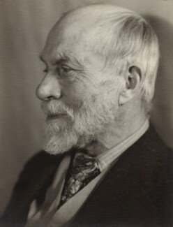 Ernest Rhys, by Lucia Moholy - NPG x76372