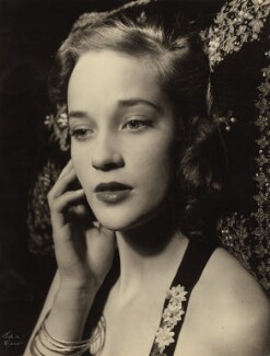 Sylvia Syms, by Ida Kar, 1953 - NPG  - © National Portrait Gallery, London