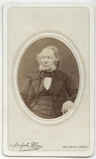 Richard Cobden, by Adolphe Paul Auguste Beau - NPG x76453