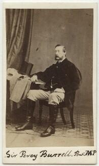 Sir Percy Burrell, 4th Bt, by Harvey Goble - NPG x76454