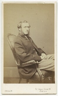 Edward Spencer Beesly, by Philip Crellin Jr - NPG x76468