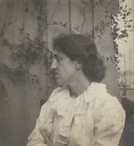 May Morris, by Unknown photographer - NPG x76475