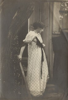 May Morris, by Unknown photographer - NPG x76479