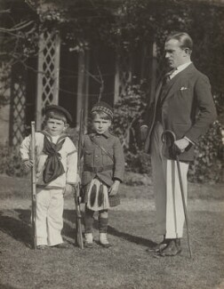 Anthony Waite Nelson Keys; John Paddy Carstairs; Nelson Waite Keys, by Unknown photographer - NPG x76534
