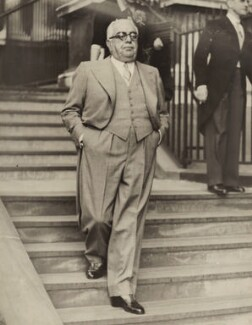 Aga Khan III (Mohammed Shah), by Unknown photographer, for  Wide World Photos, 27 June 1939 - NPG x76568 - © National Portrait Gallery, London
